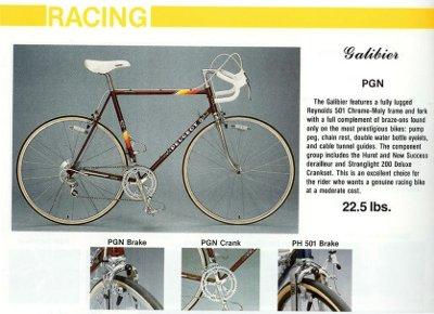 vintage peugeot bike catalogue