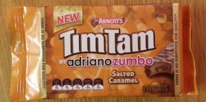 salted caramel tim tam pack