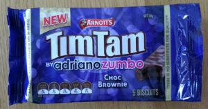 tim tam choc brownie pack