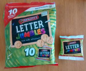 letter jumbles pack