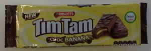 tim tam choc banana packet