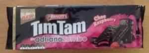 tim tam choc raspberry pack