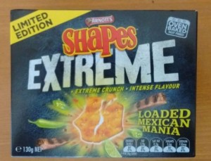 loaded mexican mania shapes box
