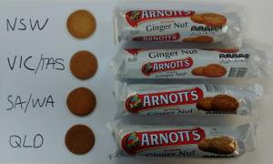 Arnott's ginger nut full set packs