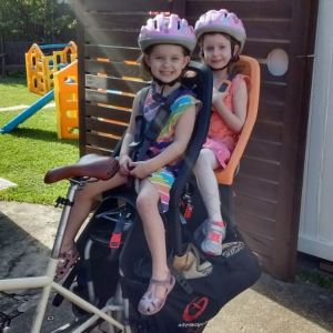 kids on bike helmets