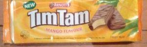 arnott's mango tim tam biscuit